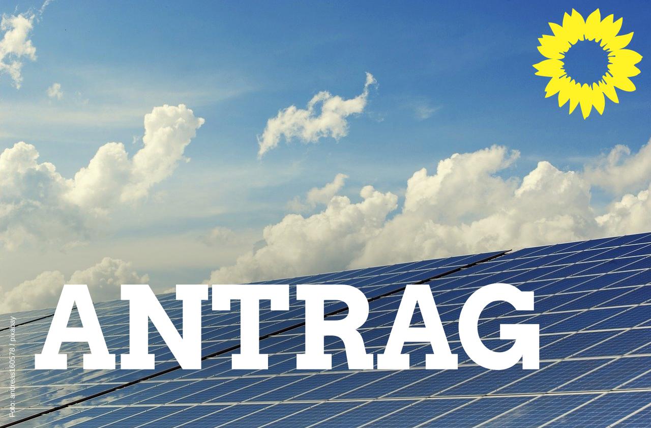Antrag: Photovoltaikanlagen auf kreiseigenen Deponien